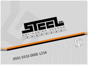 Tarjeta Steel