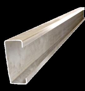 Perfil C Galvanizado 80 X 40 X 1,6 Chapa Techo Estructural Tubo